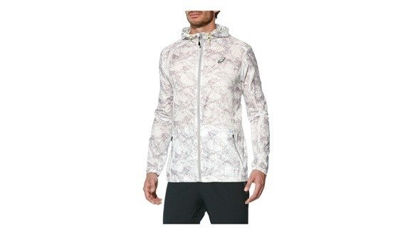 Asics Fuzex Packable Jacket - men's jacket speed (white)