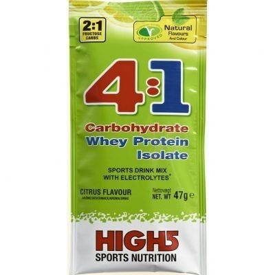 High5 4: 1 Energy Source 47g - carbohydrate-protein drink (citrus)