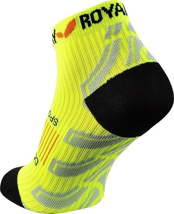 Royal Bay Neon Low-Cut - socks compression short (yellow)