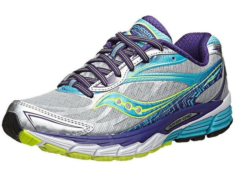 Saucony Ride 8 - women's shoes running gear (gray)