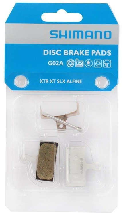 Shimano G02A - resin linings for disc brakes