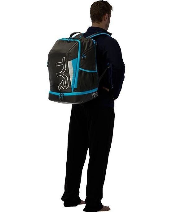 Tire Apex Transition Backpack - backpack triathlon (black and blue)