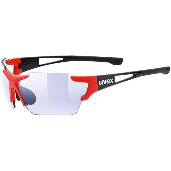 Uvex Sportstyle 803 Race VM - sunglasses (black and red)