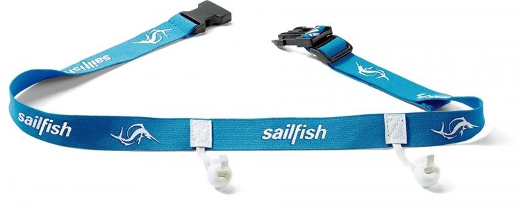 sailfish - strap on the starting number (blue)